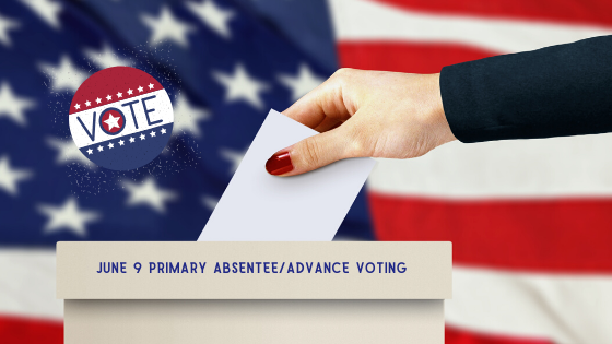 June 9 Presidential Preference Primary, General Primary, and Nonpartisan Election